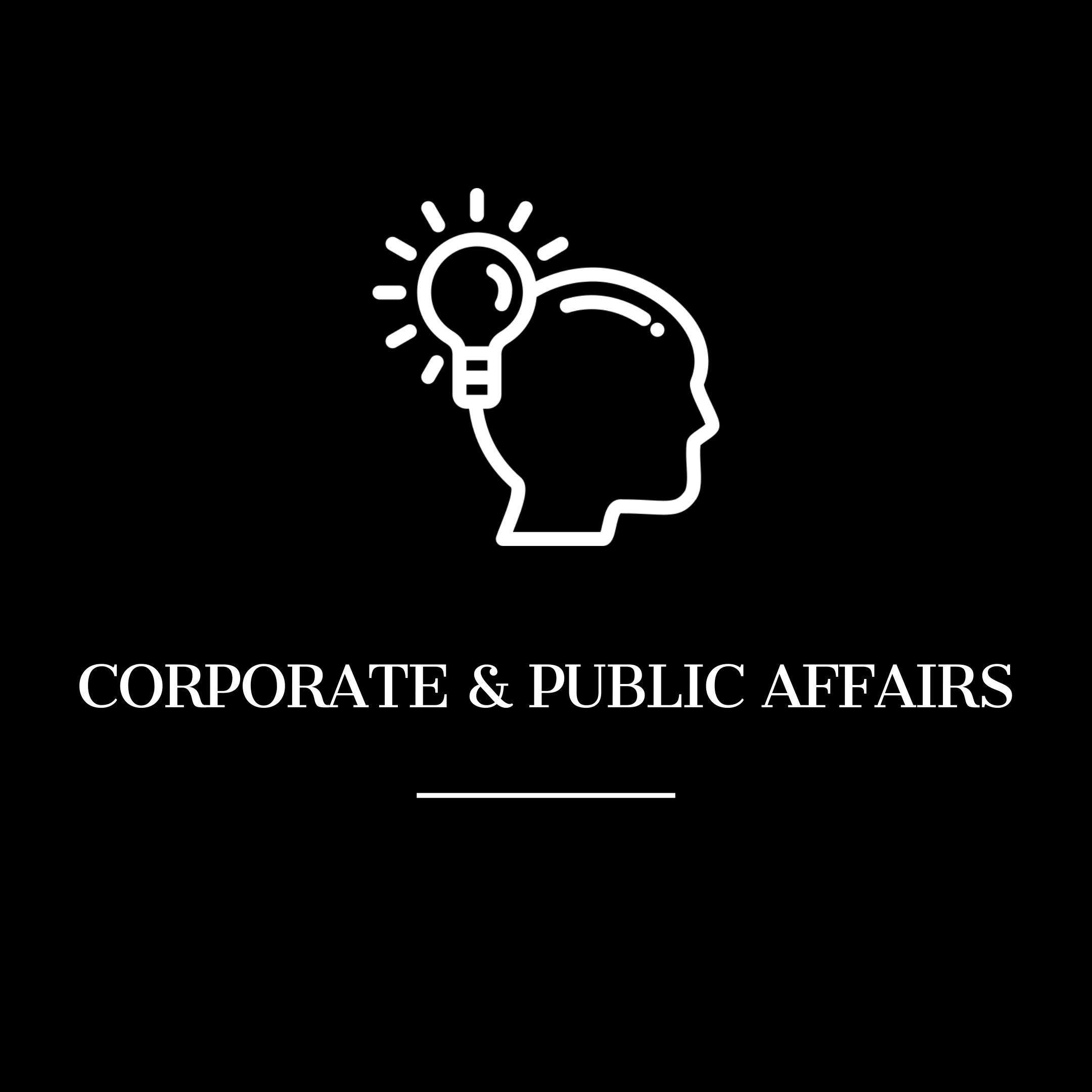Corporate & Public Affairs